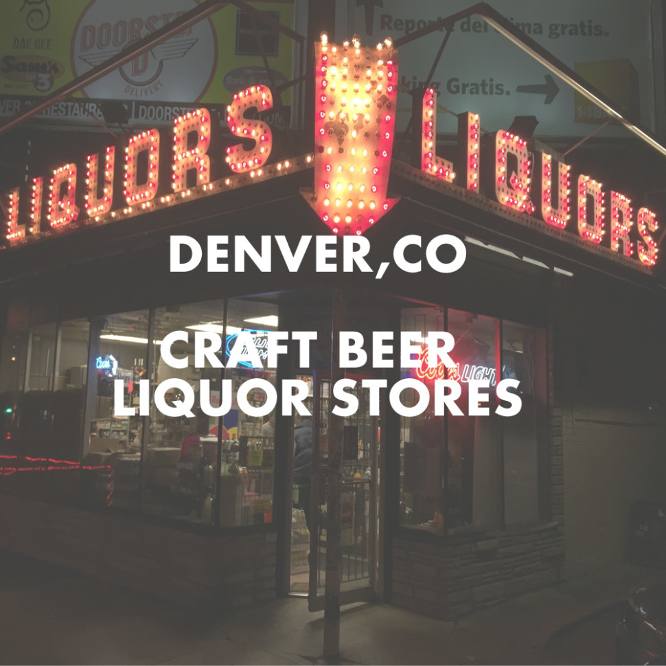 Craft beer liquor stores in denver co the high five archive for Best online craft beer store